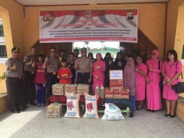 HUT Bhayangkara, Polres Tpi Anjangsana Ke STAI dan Panti Asuhan