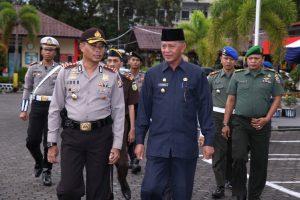 Kapolres, AKBP Joko Bintoro dan Wakil Walikota Tanjungpinang, Syahrul